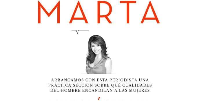 El hombre de ... Marta Fernández