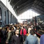 Más de 40.000 personas pasaron durante el fin de semana por el Museo del Ferrocarril para disfrutar de la oferta de tiendas del Mercado de Motores