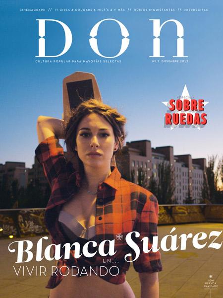 Blanca Suárez, portada del nº 2 de Don
