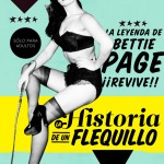 La historia de Bettie Page es el tema central de la revista.