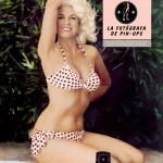Bunny Yeager, la modelo fotógrafa de pn-ups.