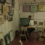 Container de la galería de arte Tetera y Kiwi