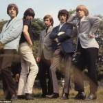 Los Rolling Stones luciendo botas chelsea