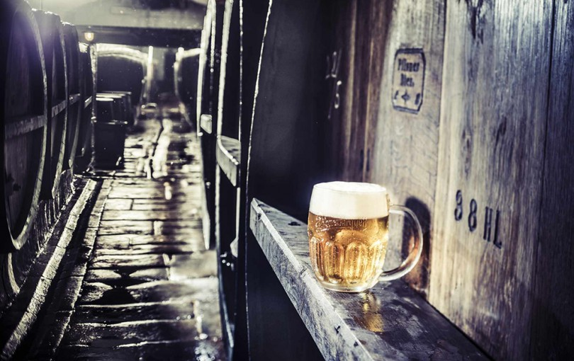 Pilsner-Urquell-ámbar