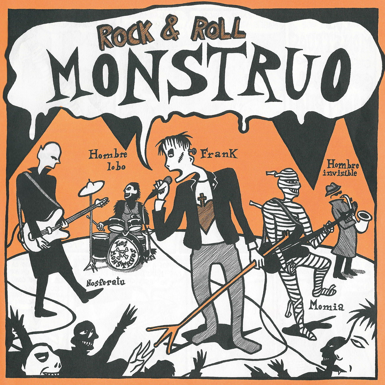 'Rock and Roll Monstruo'. Por Mauro Entrialgo.