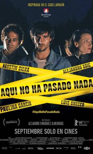 Aquí no ha pasado nada – Alejandro Fernández
