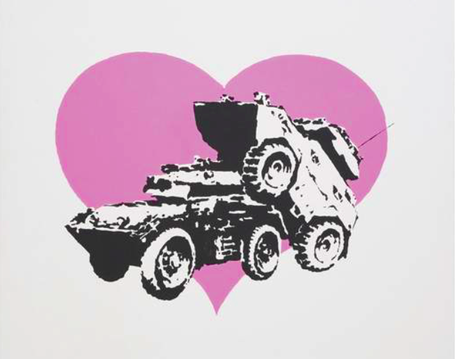 Banksy2_Every time I Make Love to You I Think of Someone Else_Vroom&Varossieau