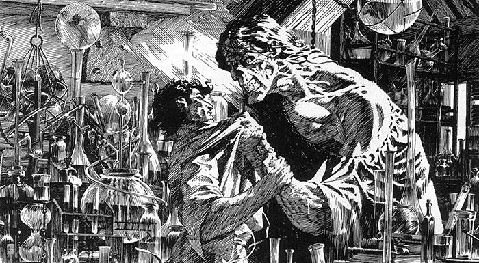 Adaptación del cómic de 'Frankestein' por Wrightson