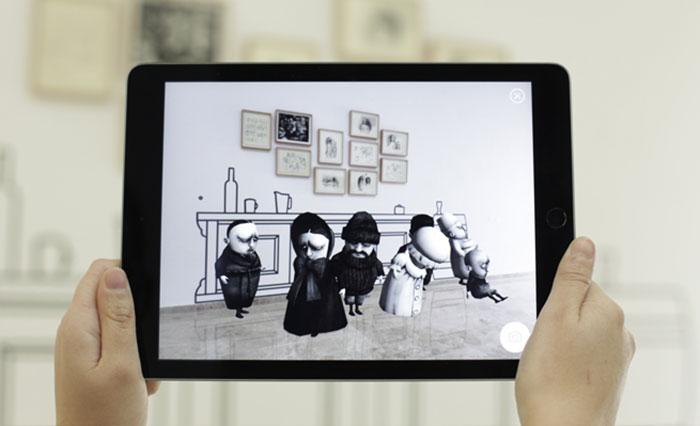 Exposición interactiva de Ana Juan