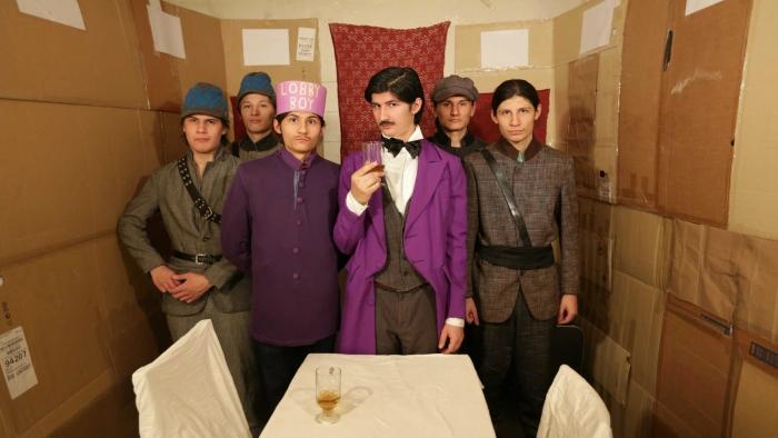 Recreación de 'El gran hotel Budapest' de Wes Anderson
