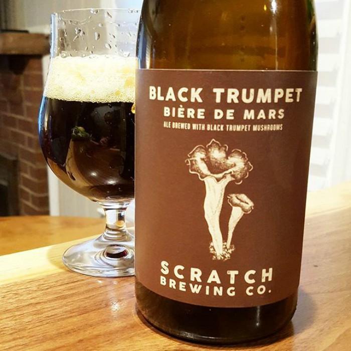 black trumpet scratch