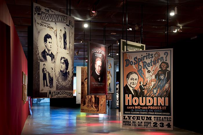 Exposición de Houdini hasta el 28 de mayo