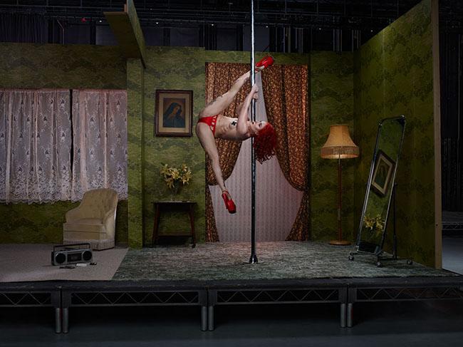 Sasha Marie, bailarina de striptease