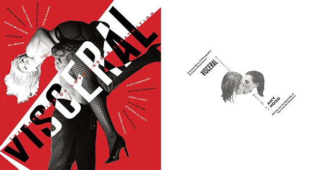 Diseño de la publicación erótica 'VISCERAL', Viscous Publications