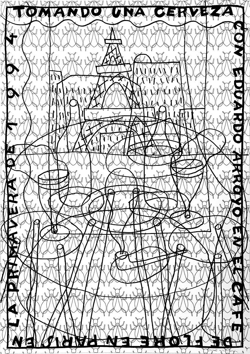 Fernando-Bellver-Sobras-de-Arte-2018-Con-Eduardo-Arroyo-en-Paris